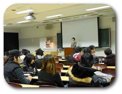 和光大学での様子